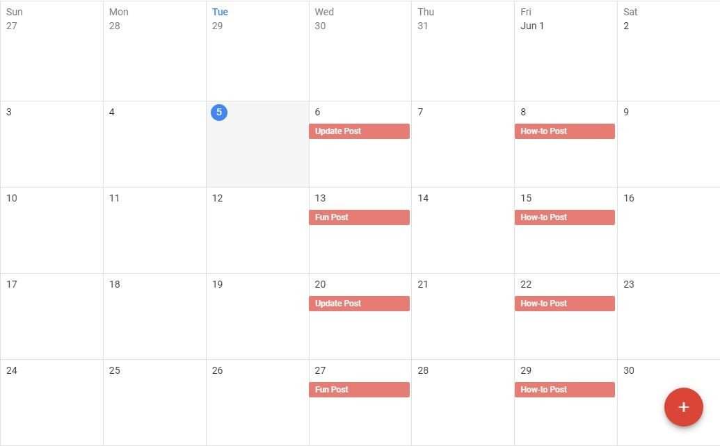 Schedule for Spending Done Right