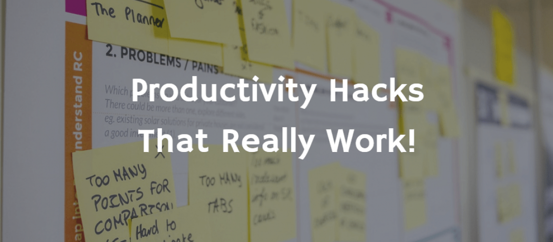 Productivity hacks - Spending Done Right