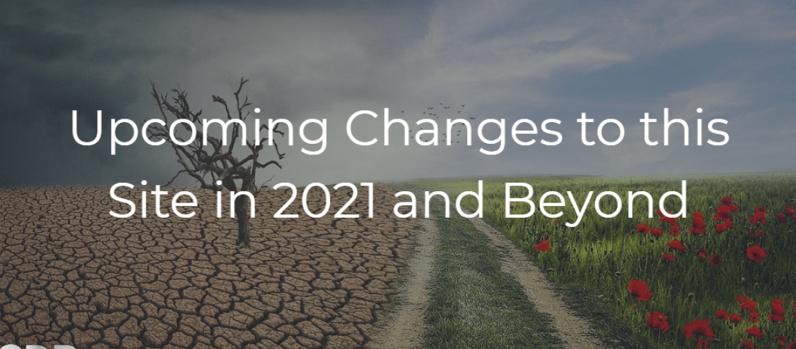 Upcoming changes in 2021