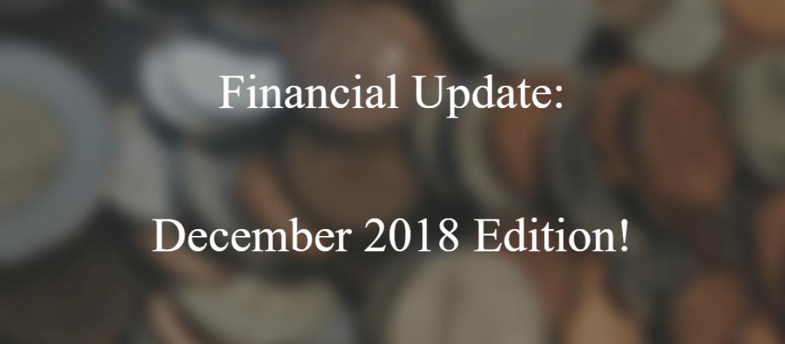 financial update dec 2018